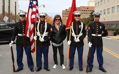 Tim Atwood Honored To Participate In Nashville's Veteran's Day Parade and Celebration